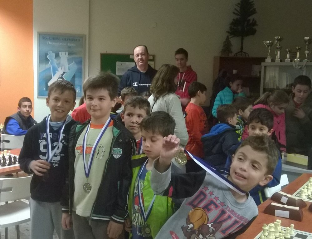 1o Παιδικό Τουρνουά Rapid Α.Ο. Παραδείσου Αμαρουσίου – Σ.Ο Χαλανδρίου