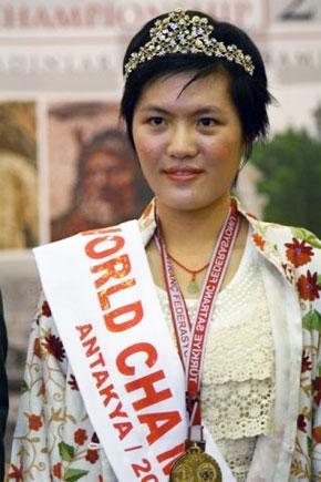 Hou Yifan, Παγκόσμια Πρωταθλήτρια Γυναικών 2010-2012